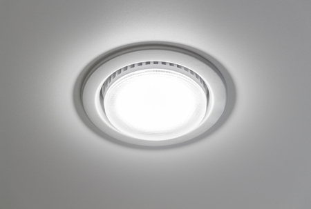 ceiling lamps: Ceiling light closeup