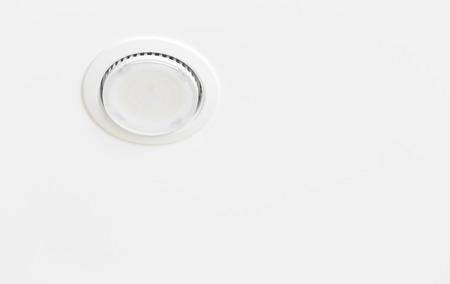 ceiling light: Ceiling light closeup