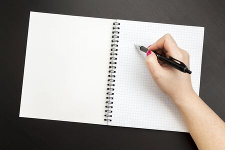 blank sheet: Hoja en blanco del cuaderno