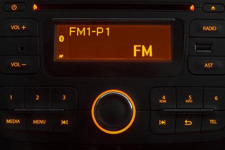 Autoradio nacht