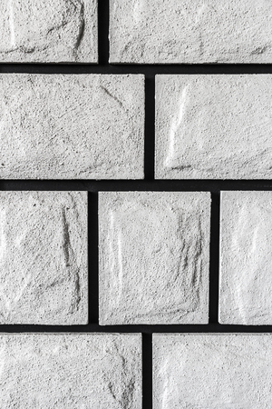 sand lime bricks: The texture of the surface of light decorative stone