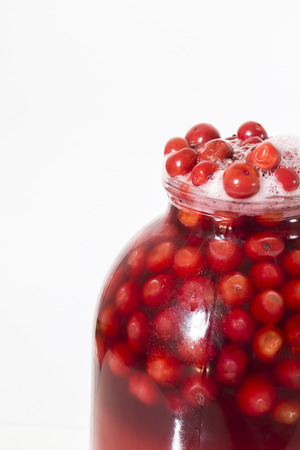 flew: Flew off to lid jars with berry compote.
