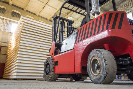 sip: Inside a large warehouse for ready SIP panels.