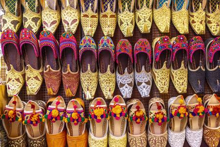 Shopping street market. District of Dubai Deira.