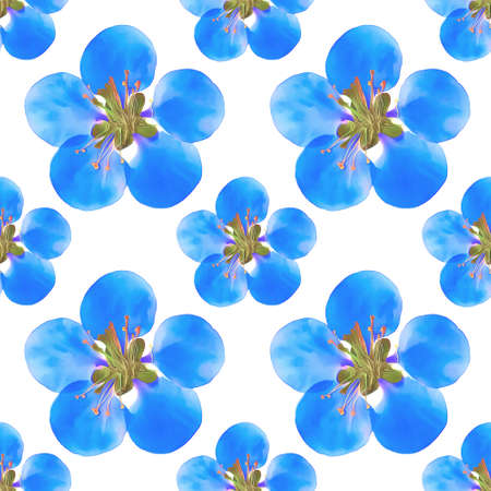 membrillo: Quince, apple quince. Texture of flowers. Seamless pattern for continuous replicate. Floral background, photo collage for production of textile, cotton fabric. For use in wallpaper, covers