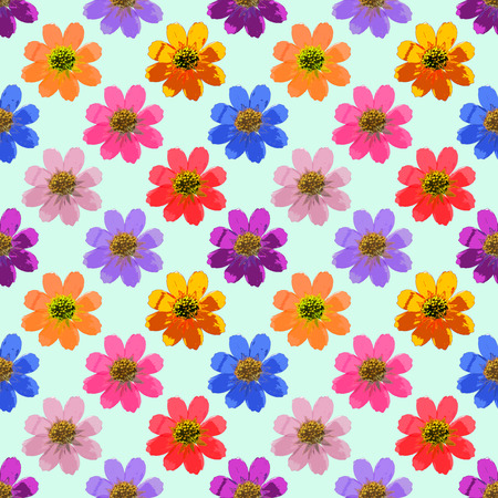 cranesbill: Geranium, pelargonium. Texture of flowers. Seamless pattern for continuous replicate. Floral background, photo collage for production of textile, cotton fabric. For use in wallpaper, covers Stock Photo