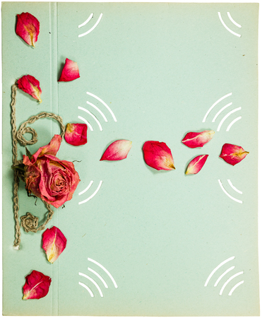 page rustic elements. Simple Elements Page From An Old Album Pistachio Color Decorated Flower And Rose Petals  Rustic And Page Rustic Elements F