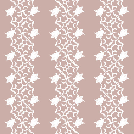 victorian wallpaper: Modern stylish floral flower pattern for textile, wallpaper, pattern fills, covers, surface, print, gift wrap scrapbook decoupage Seamless abstract pink and white classic pattern