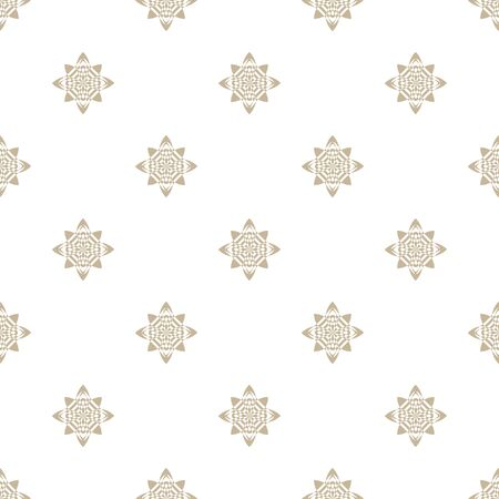 seamless: Abstract geometric pattern. A seamless background, grey texture Illustration