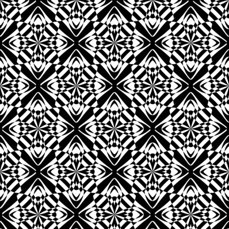 seamless: Wallpaper baroque, damask. White and black floral pattern. Vintage ornament. background for wallpaper, printing on the packaging paper, textiles, tile.
