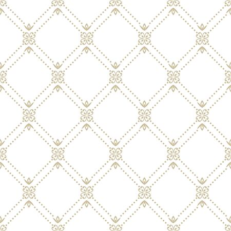 Abstract geometric pattern. A seamless background, grey texture Ilustrace