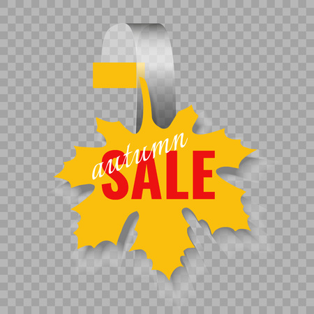 Wobbler or sales stickers. Winter sale supermarket shelf wobbler isolated on transparent background vector discount sticker, special offer, plastic price banner. Illustration