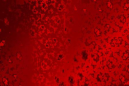 赤の抽象的なテクスチャグランジ背景ベクトルのイラスト。