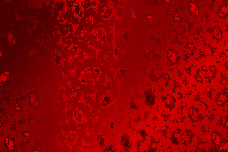 Red abstract textured grunge background vector illustration.