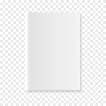 小冊子またはノートブックのモックアップ3Dイラスト  イラスト・ベクター素材
