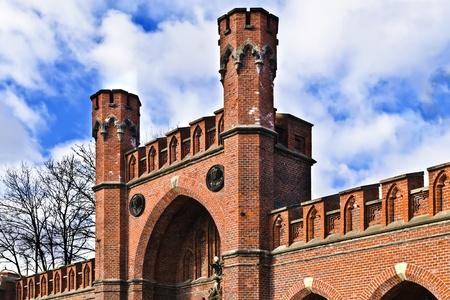 укрепление: Росгартенские ворота - не укреплены укрепление Кенигсберга Калининграда до 1946 года Кенигсберг, Россия