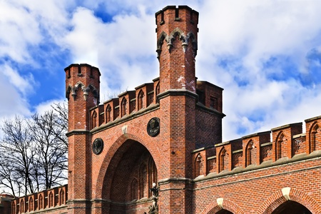Rossgarten Gate - fortified strengthening of Koenigsberg  Kaliningrad  until 1946 Koenigsberg , Russia