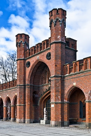 Rossgarten Gate - fortified strengthening of Koenigsberg, Kaliningrad  until 1946 Koenigsberg , Russia photo