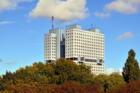 unnecessary: House of Soviets  - famous unfinished, Kaliningrad, Russia Stock Photo