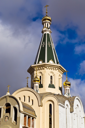 martyr: Dome of the temple of the great Martyr Tatiana, Kaliningrad  until 1946 Koenigsberg , Russia