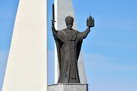 Monument to St Nicholas The Wonderworker  Kaliningrad, Russia