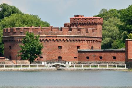 Defensive tower Der Dohna. Kaliningrad (former Koenigsberg), Russia