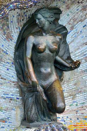 herman: Sculpture of a Nymph. Svetlogorsk (formerly Rauschen), Russia
