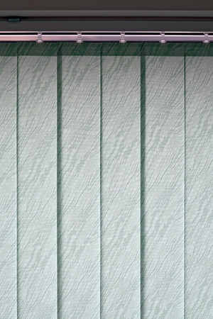 planck: Vertical blinds on the window of the office