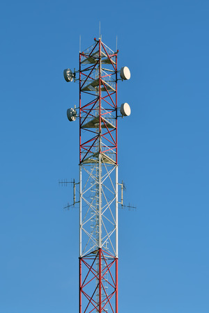 antennas: Fragment of antennas closeup