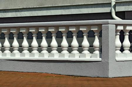 balustrade: Beautiful white balustrade
