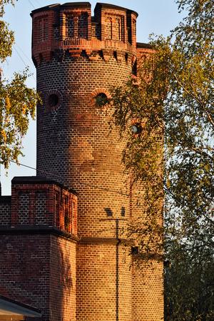 parapet wall: Friedrichsburg Gate old German Fort in Koenigsberg. Kaliningrad until 1946 Koenigsberg Russia