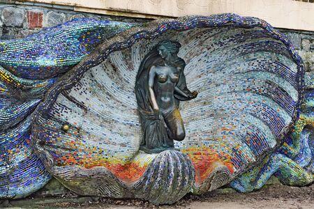 herman: Sculpture of a Nymph. Svetlogorsk formerly Rauschen Russia