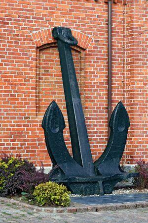 Vintage ship anchor