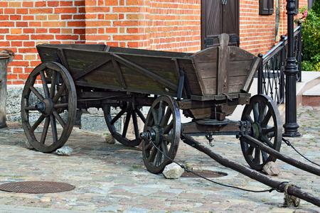 shafts: Vintage German cart