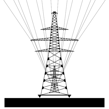 transmission line: Power transmission line.