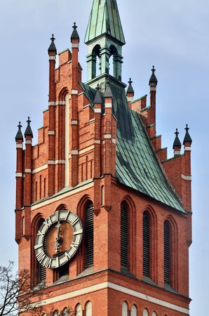 20th century: Church of the Holy family, neo-Gothic beginning of the 20th century. Kaliningrad, until 1946 Koenigsberg, Russia