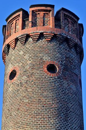 Tower Friedrichsburg gate - old German Fort in Konigsberg. Kaliningrad, until 1946 Koenigsberg, Russia