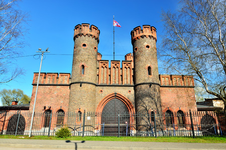 Friedrichsburg Gate - German Fort in Konigsberg. Kaliningrad, formerly Koenigsberg, Russia