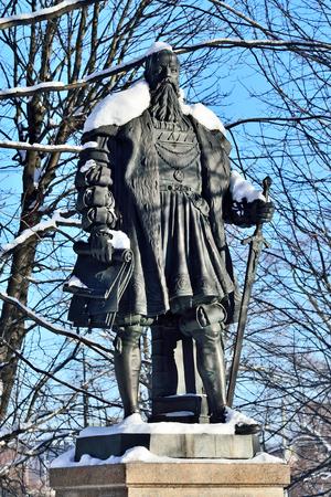Denkmal des Herzogs Albrecht. Kaliningrad, früher Königsberg, Ru