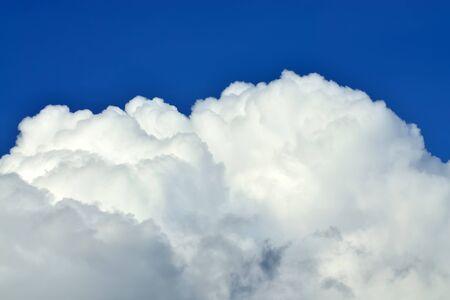 Beautiful Cumulus cloud closeup