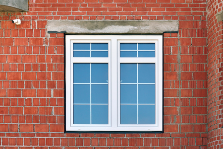 Modern window in the building