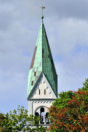 Church of Queen Luisa. Kaliningrad, before Koenigsberg, Russia