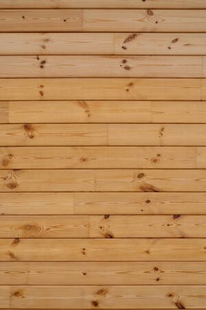 Coniferous wooden wall. Beautiful natural vertical background