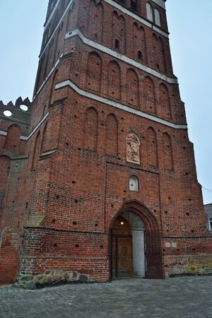 Church Of St. George The Victorious, formerly Friedland Church, founded in 1313. Pravdinsk, formerly Friedland, Kaliningrad region, Russia