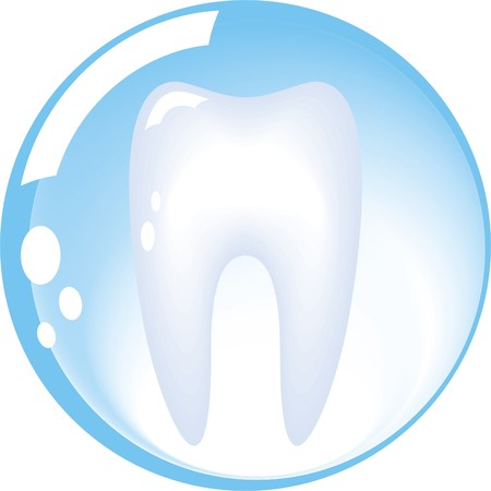 dentistry:           tooth is protected by a glass sphere, dentistry