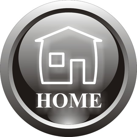 black home  button                 Vector