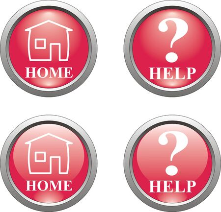 creation of sites: red question mark and home button