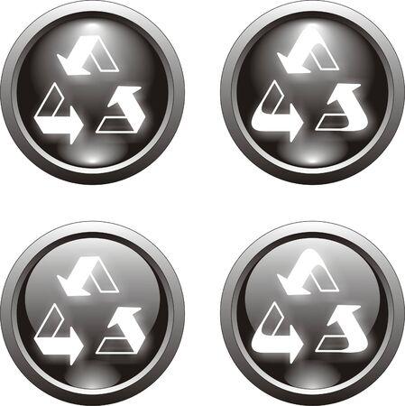 button  or icon               Vector