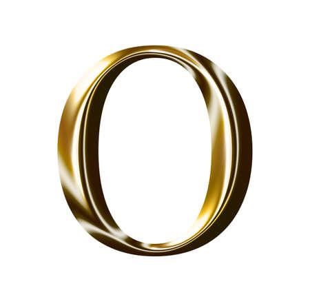 gold alphabet: gold number symbol