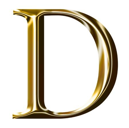 gold letter: gold alphabet symbol    -  uppercase  letter